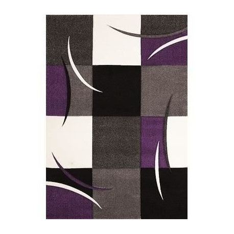 DIAMOND Tapis de salon 160x230 cm Lilas