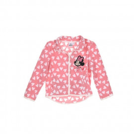 MINNIE Veste polaire - Enfant fille - rose