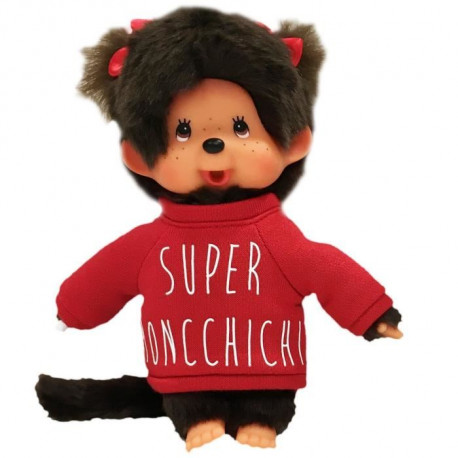 MONCHHICHI - Peluche sweat fille