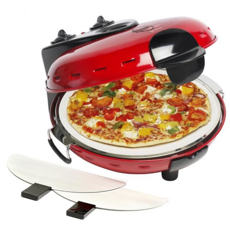BESTRON DLD9070 Four a pizza - Rouge