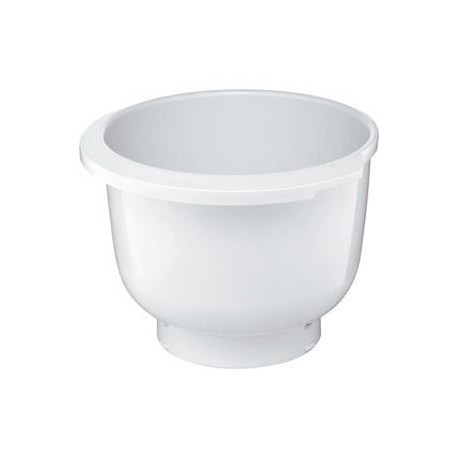 BOSCH -Bol blanc en plastique pour Kitchen Machine MUM5 MUZ5KR1