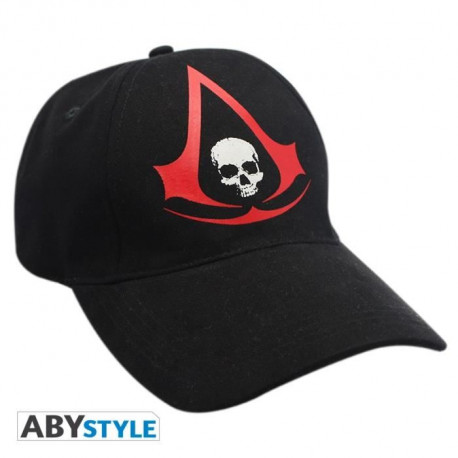 """ABYSTYLE Casquette Assassin's Creed """"Ac4 - Crest"""" - Noir"""