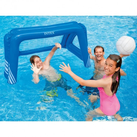 INTEX Cage De Water Polo - Foot gonflable pour piscine