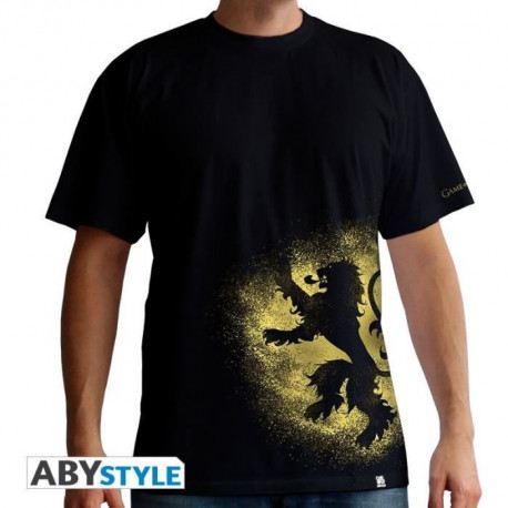 T-shirt Homme Game Of Thrones : Lannister Spray - Noir