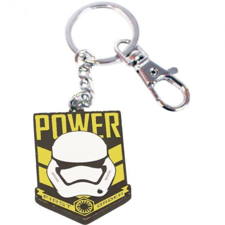 WTT STAR WARS EP7 Porte-clé Power First Order Métal