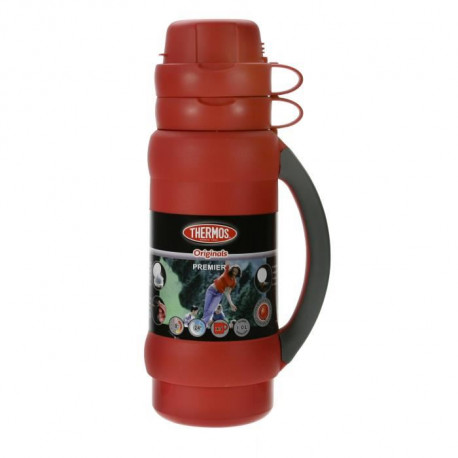 THERMOS Premier bouteille isotherme - 1L - Rouge