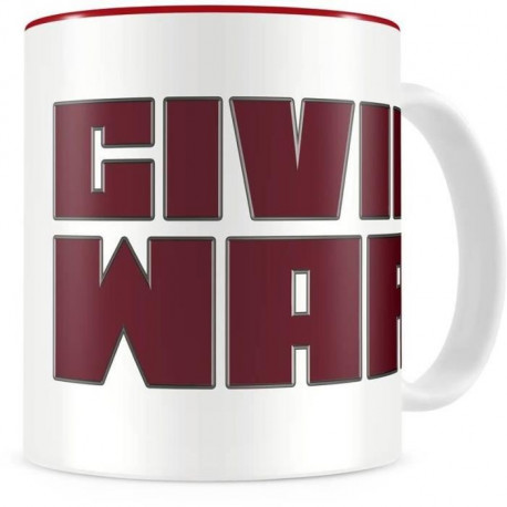 Mug WTT Marvel - Civil War - Logo Thermo