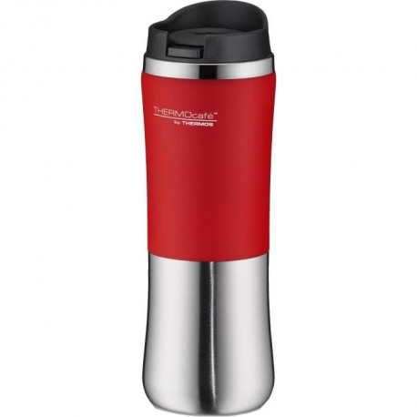 THERMOS Brilliant bouteille isotherme - 300ml - Gris / Rouge