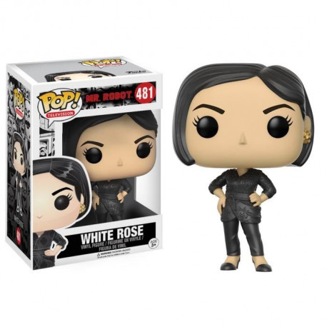 Figurine Funko Pop! Mr Robot : White Rose