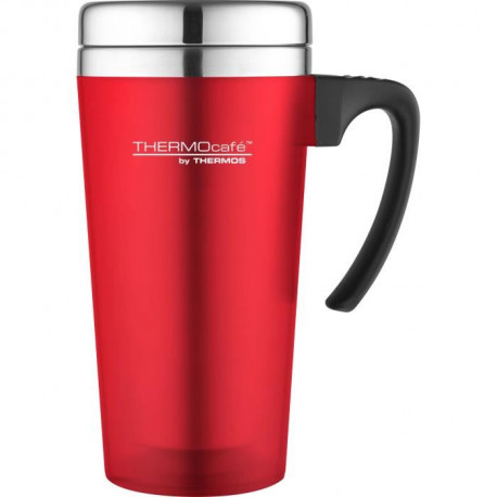 THERMOS Soft touch travel mug isotherme - 420ml - Rouge