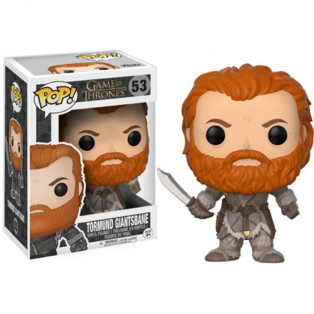 Figurine Funko Pop! Game Of Trones : Tormund Giantsbane