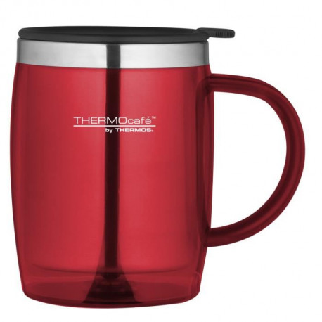 THERMOS Tasse de bureau - 450 ml - Rouge