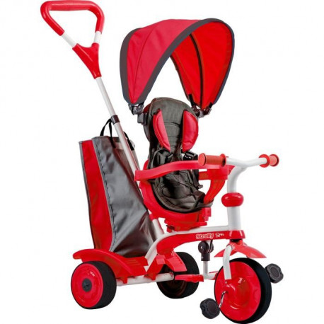 STROLLY - Tricycle Evolutif Strolly Spin - Rouge