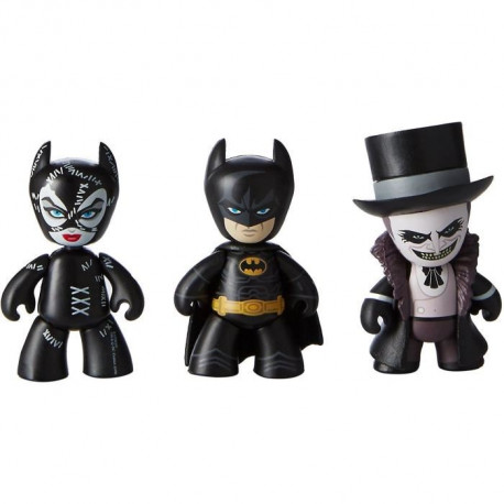 Pack de 3 Figurines Batman Le Défi : Mez-Itz