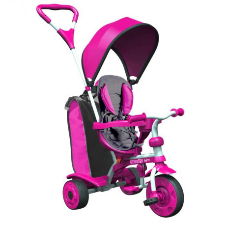 STROLLY - Tricycle Evolutif Strolly Spin - Rose