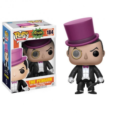 Figurine Funko Pop! DC Comics - Batman Classic TV Series: The Penguin