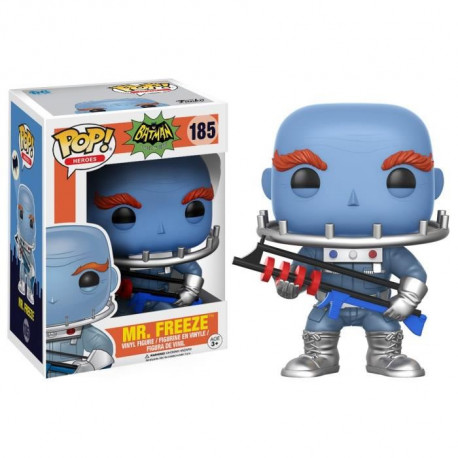 Figurine Funko Pop! DC Comics -  Batman Classic TV Series: Mr. Freeze
