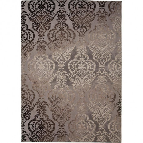 THEMA  Tapis de salon  100% polyester 160x230 - Marron