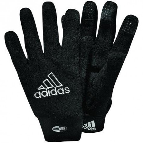 ADIDAS Gants de gardien de football Player Field - Mixte - Noir et blanc