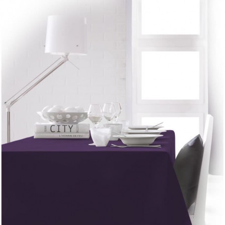 TODAY Nappe rectangulaire 150x250cm - Violet