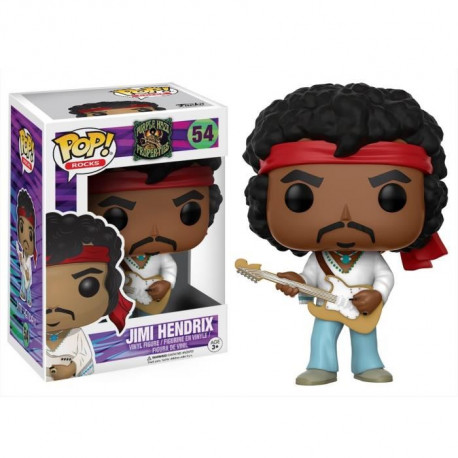 Figurine Funko Pop! Purple Haze Properties : Jimi Hendrix