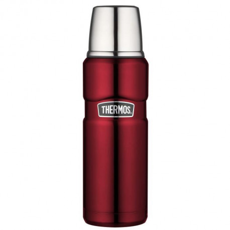 THERMOS King bouteille isotherme - 470 ml - Rouge