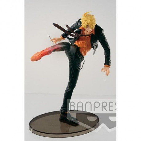 Figurine Banpresto One Piece Scultures: Sanji Diable Jump