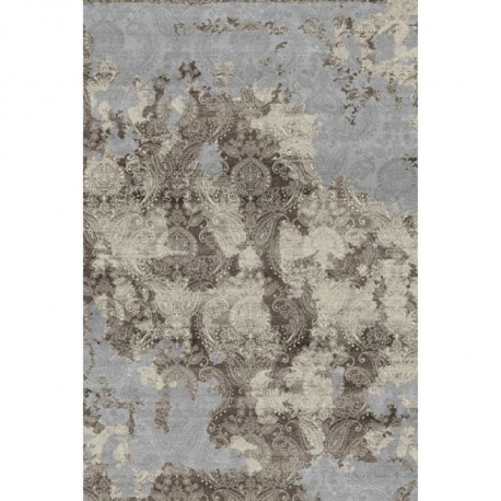 THEMA  Tapis de salon  100% polyester 120x170 - Marron