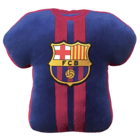FC BARCELONE Coussin forme maillot ø 36 cm