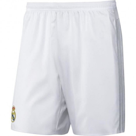 Short de football REAL DOMICILE 15 - Réplique - Blanc