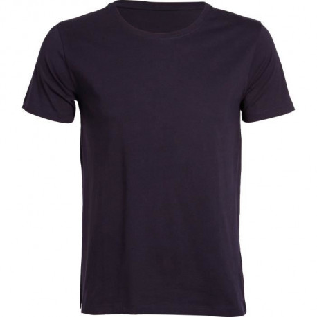 SOFTWEAR T-Shirt Homme Uni - Manches Courtes - Homme - Col Rond - Marine
