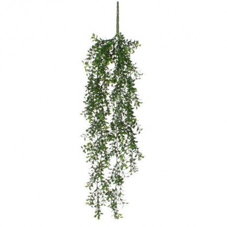 MICA DECORATIONS Lot de 2 Plantes artificielles Buis a suspendre - Vert