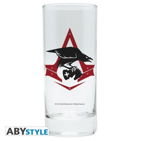 """ABYSTYLE Verre Assassin'S Creed """"Bird & Crest"""""""