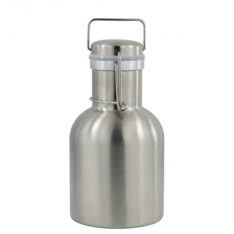 CAO CAMPING Bouteille a bouchon canette - Inox - 1 L