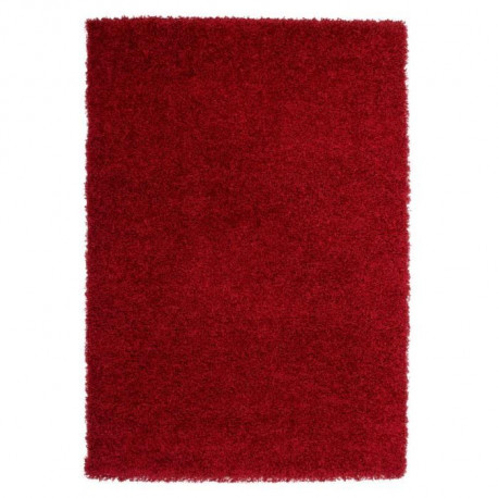 TRENDY Tapis de salon Shaggy  rouge 160x230 cm