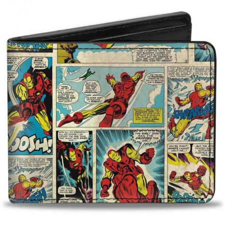 Porte-Feuille Marvel: Iron Man Comics