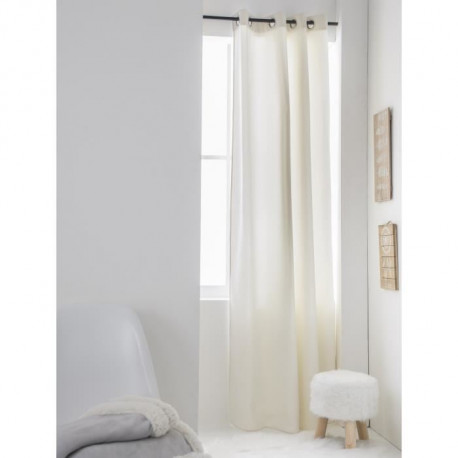 TODAY Rideau isolant STOCKHOLM CRYSTAL 140x240 cm gris