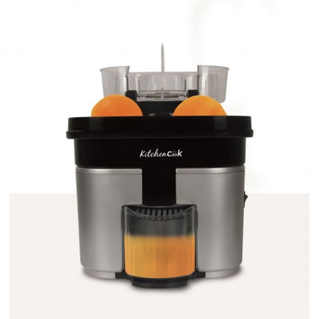 KITCHEN COOK Presse-agrumes électrique double Speed'O - Inox
