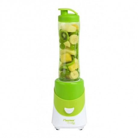 BESTRON ASM250G Blender - Fruits entiers et pur jus de fruits - Vert