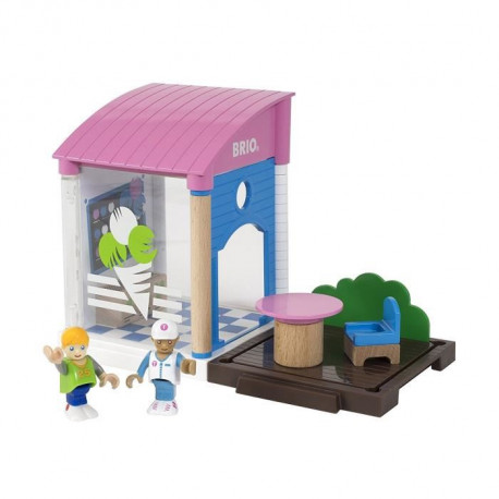 BRIO World  - 33944 - Kiosque A Glaces