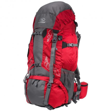 HIGHLANDER Sac a dos Discovery 85 L Rouge