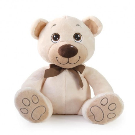 DECAR2 Peluche Ours - Beige - 45 cm
