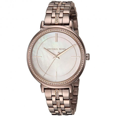 MICHAEL KORS Montre MK3737 Femme Coloris Or Rose