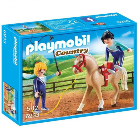 PLAYMOBIL 6933 - Country - Voltigeuses et Cheval