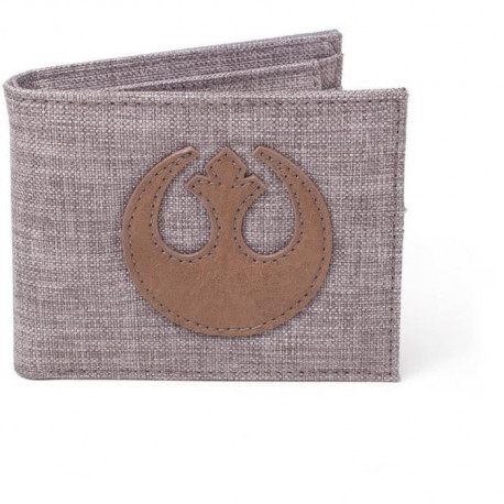 Portefeuille pliable en toile Star Wars: Embleme de l'Alliance Rebelle