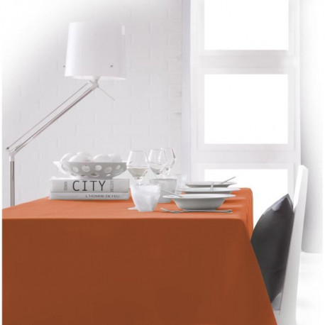 TODAY Nappe rectangulaire 140x200cm - Mandarine