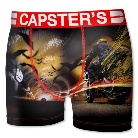 CAPSTER Boxer Homme Moto