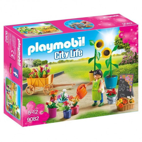 PLAYMOBIL 9082 - City Life - Fleuriste