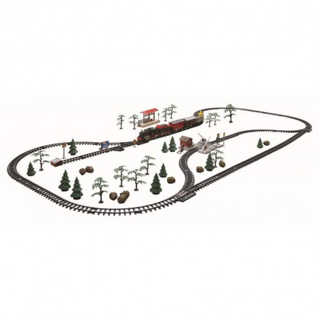 Set de Train Royal Express sans fil R/C 66 pieces - 10m - Chemins de fer Set électrique