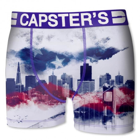 CAPSTER Boxer Homme San Fransico
